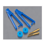 Clevis du-bro micro long arm (.047 ) blu