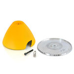 Spinner esm p-39 3 blade (yellow)