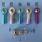 Ball joints hao metal (m3 x l26mm)