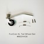Tail wheel set mpx funcub xl
