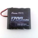 Batt ga 4.8v1700 (jr lead) rx