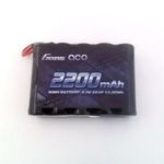 Batt ga 6.0v2200 (jr lead) rx