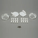 Servo wing mount set hitec hs80/81