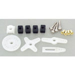 Horn and hardware set hitec reg servo
