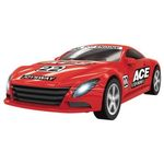 Red racer joy ace slot car
