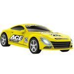 Yellow racer joy slot car